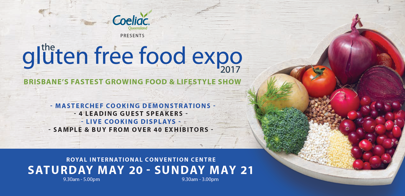 Gluten Free Food Expo Returns to Brisbane in 2017 - CheckUP