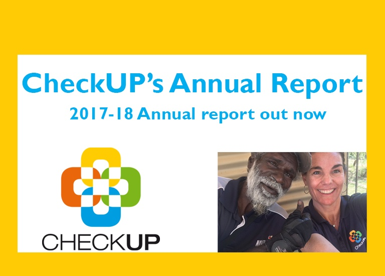 CheckUP's 2017 -2018 Annual Report