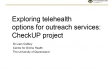 Exploring Telehealth Options for Outreach Presentation