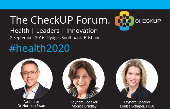 The CheckUP Forum Series September 2016