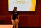 Fran presents about Tucka-Time
