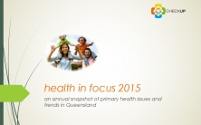 Health in Focus 2015 Report