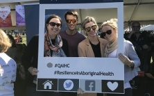 We join in the fun at the NAIDOC Family Fun Day