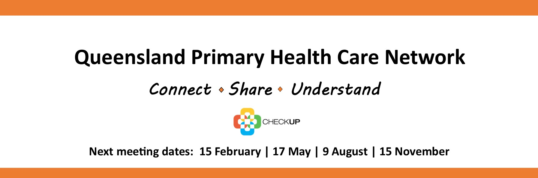 QPHCN Queensland Primary Health Care Network Meeting (9 August 2017)