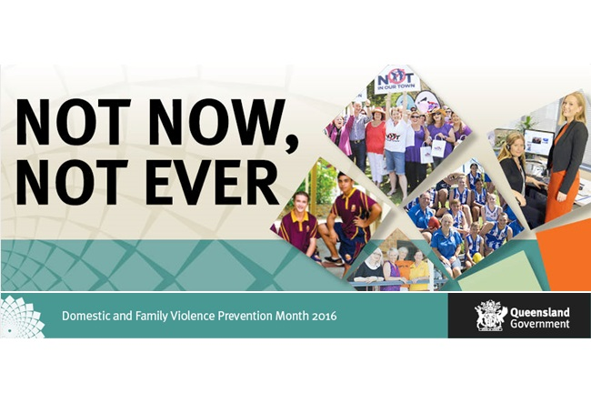 Domestic and Family Violence Prevention Month